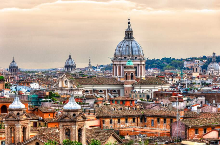 Profiter des points de vue sur Rome