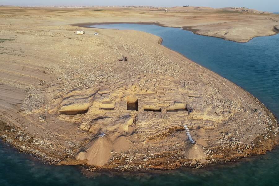 Admirez les vestiges d'un palais de plus de 3000 ans en Irak