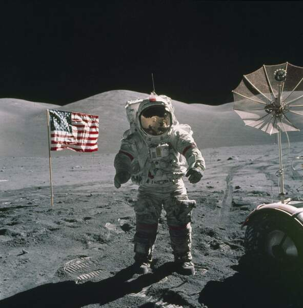 Apollo 17 : ce n'est qu'un au revoir, là-haut...