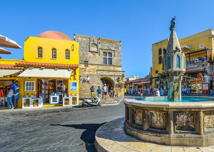 Visite de Rhodes-ville
