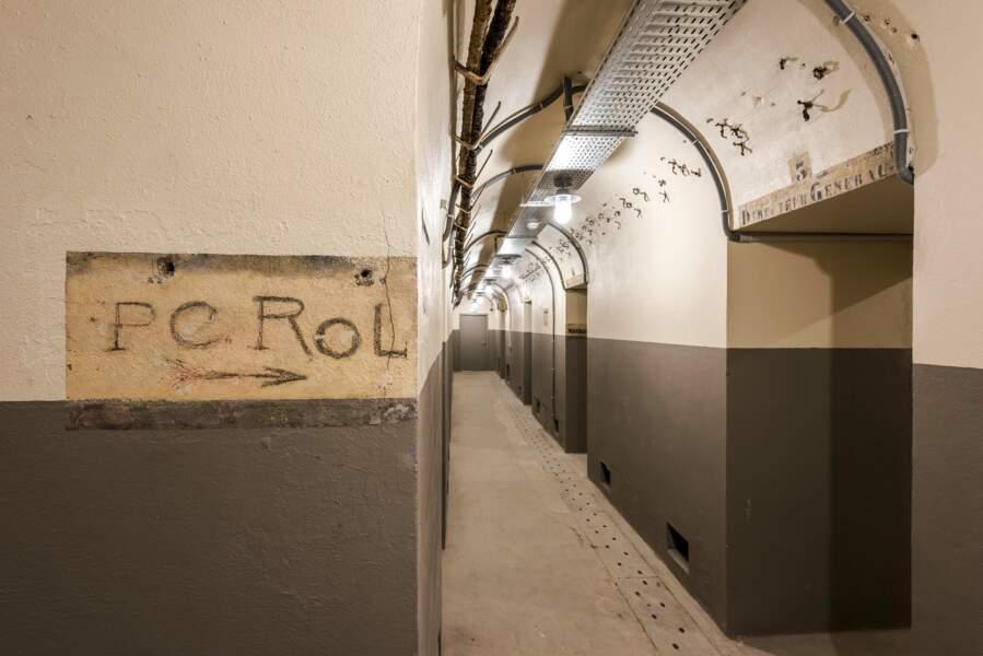 20 mètres sous terre, le poste de commandement du colonel Rol-Tanguy