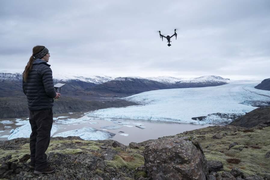 Dr Kieran Baxter, chercheur et pilote de drone