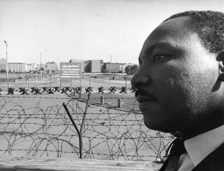 Martin Luther King à Berlin Ouest le 13 septembre 1964