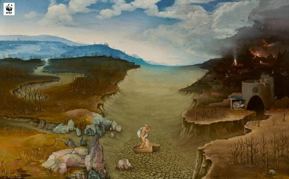 Le Styx à sec, par le Musée du Prado et le WWF Espagne