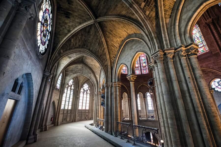 """La cathédrale est conçue pour favoriser une """"marche pèlerine"""""""