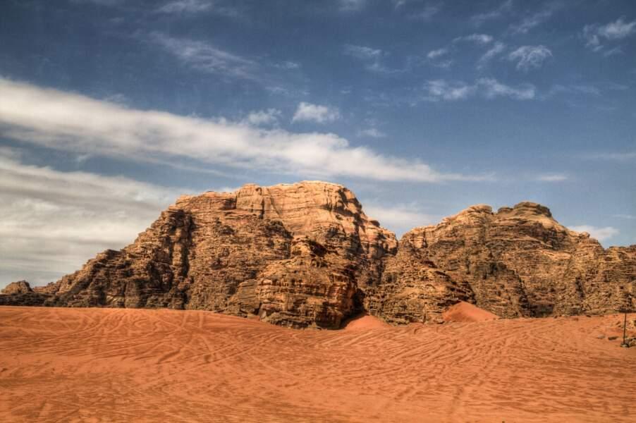 Désert jordanien du Wadi Rum : planète Pasaana (épisode IX)