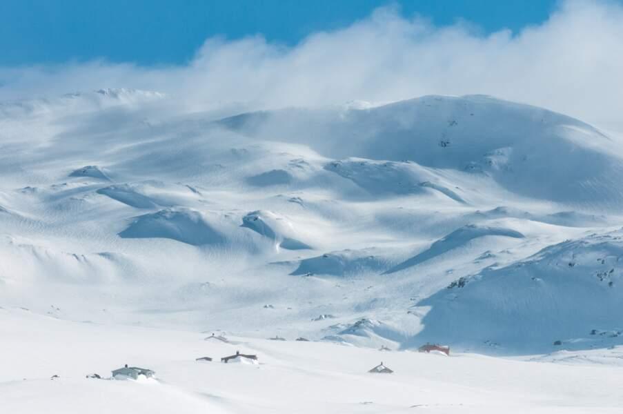 Village de Finse, Norvège : planète Hoth (épisode V)