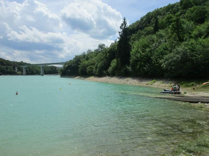 Lac de Vouglans, Bourgogne-Franche-Comté