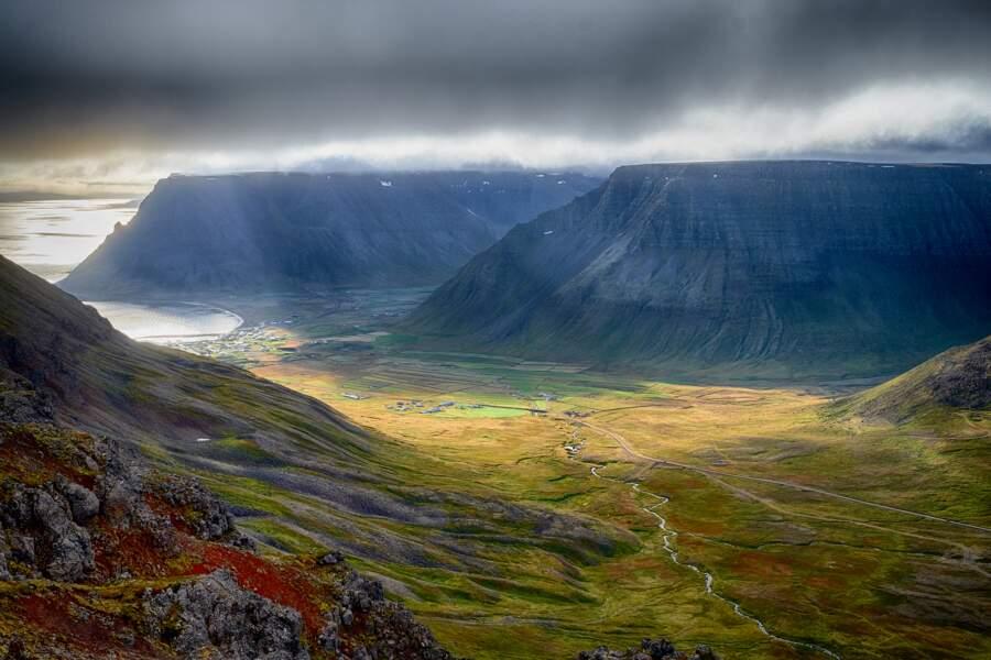 Un paysage aussi changeant que le ciel