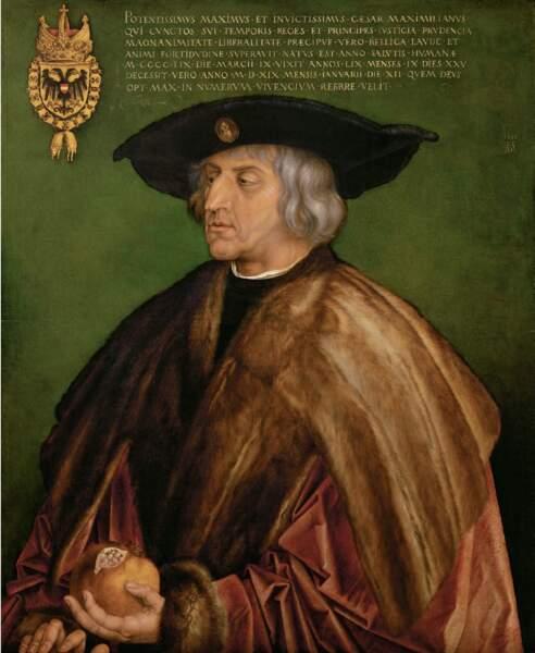 Maximilien Ier (1459-1519), empereur du Saint Empire romain germanique