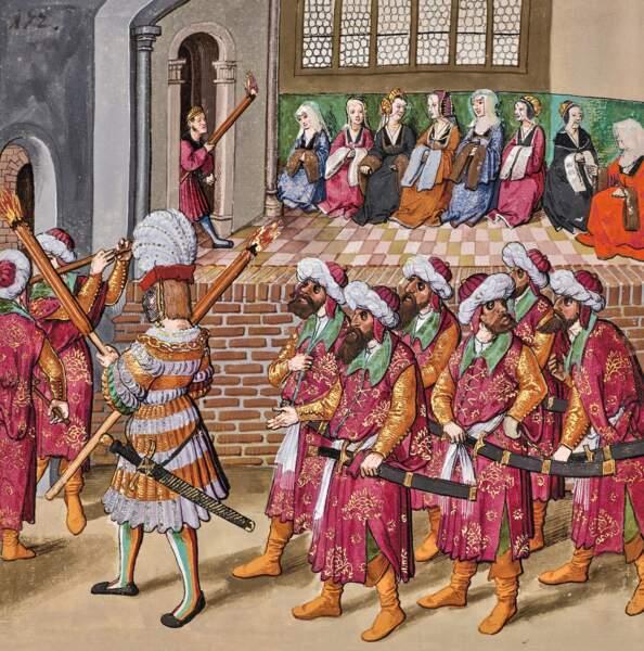 Des costumes ottomans
