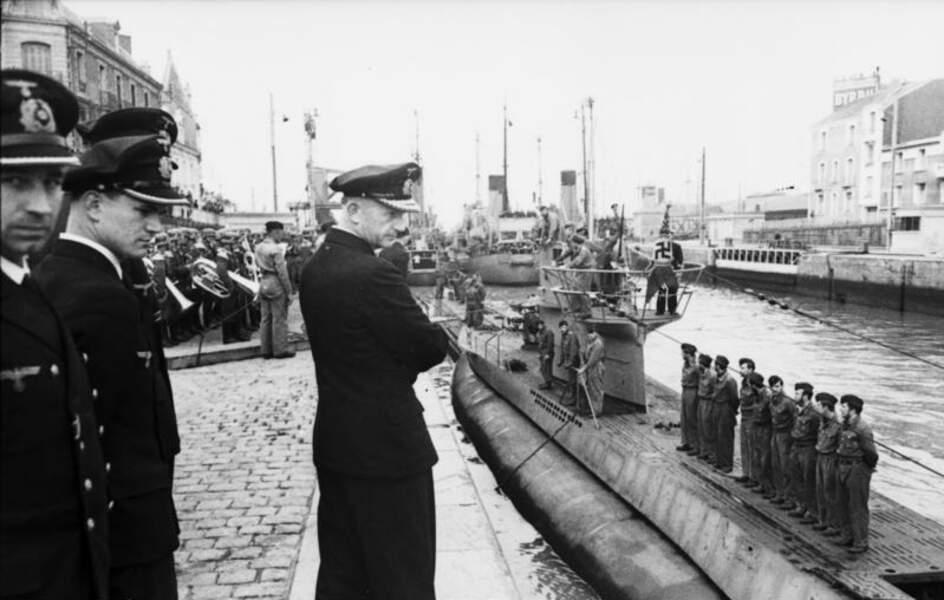 L'amiral Karl Dönitz (1891 - 1980)