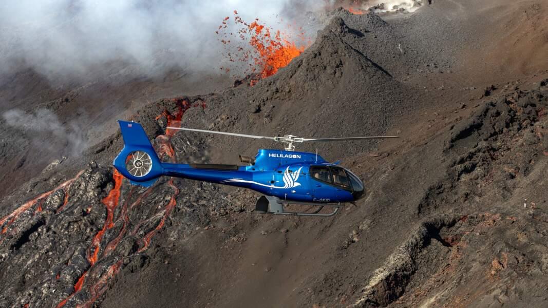 Après deux jours de ciel couvert, les scientifiques ont finalement pu goûter au spectacle pyrotechnique
