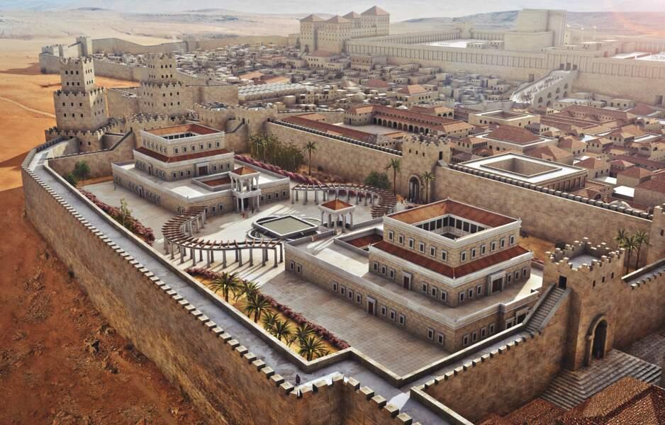 Du haut de son palais fastueux, le monarque dominait la capitale