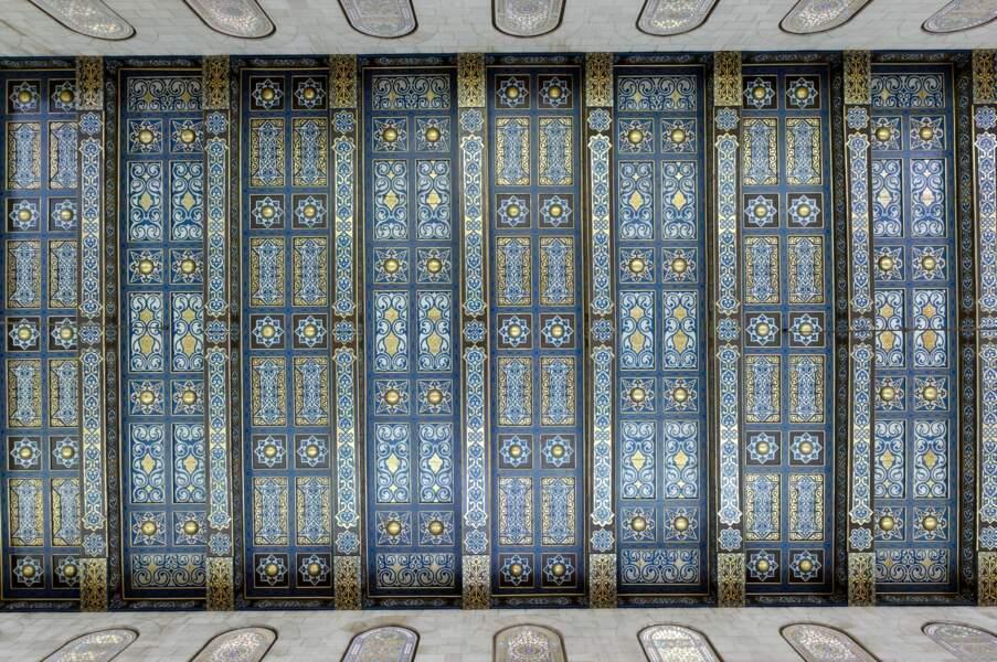 Mosaïques au plafond