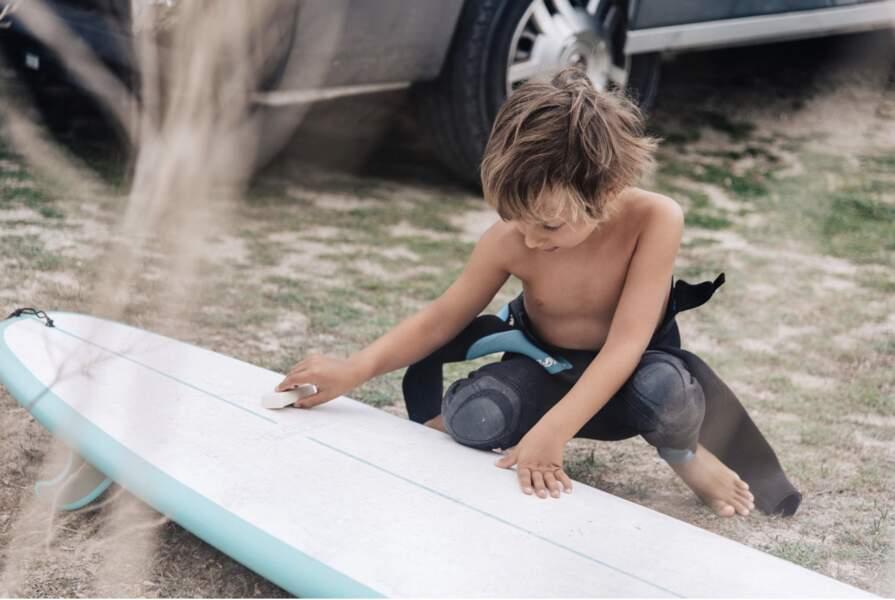 Séance de surf