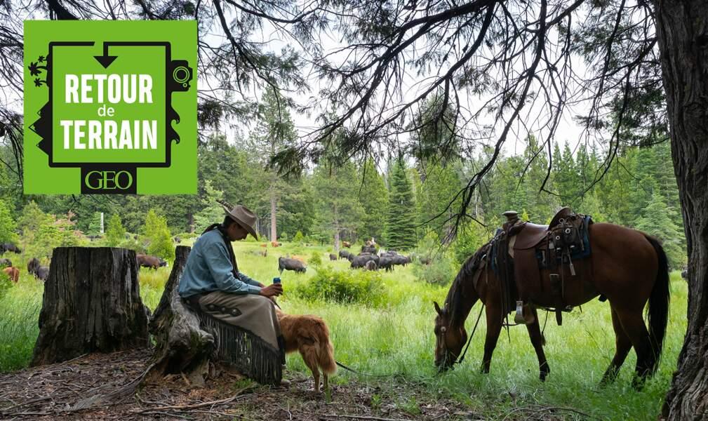 # 1 En immersion avec les derniers cow-boys du Far West