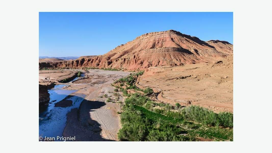 Vallée de Loumila, sud marocain