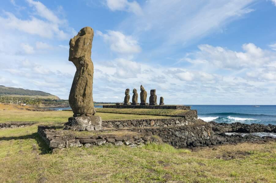 L'île de Pâques, au Chili