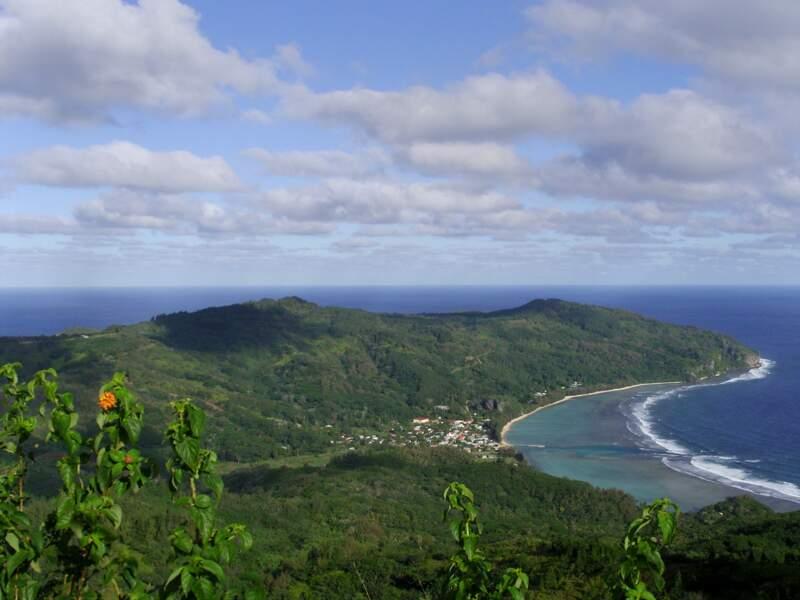Rurutu, dans l'archipel des Australes, en Polynésie française