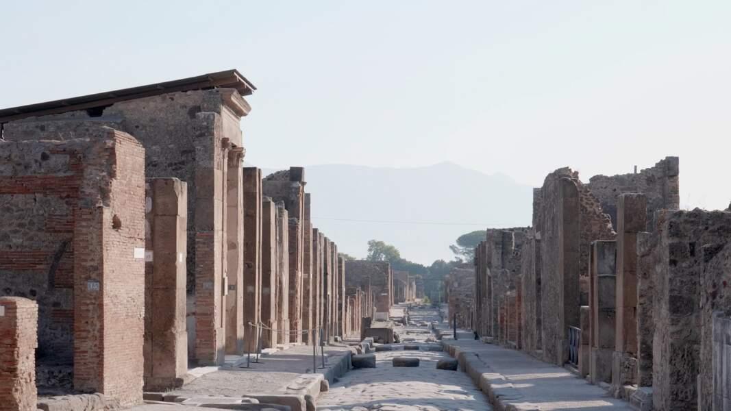 Vue de la Via della Fortuna Pompéi
