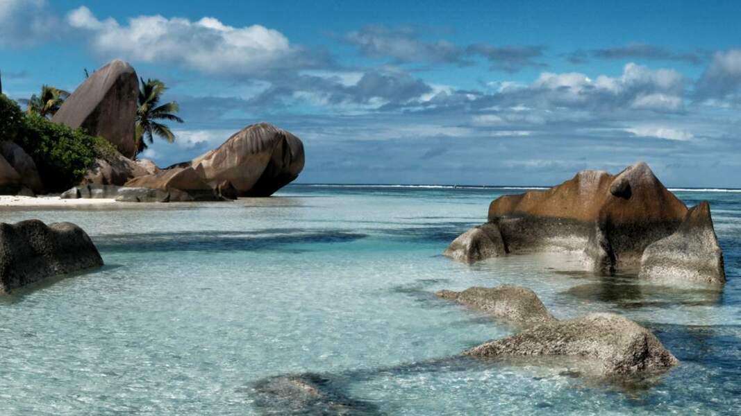 La digue, île granitique