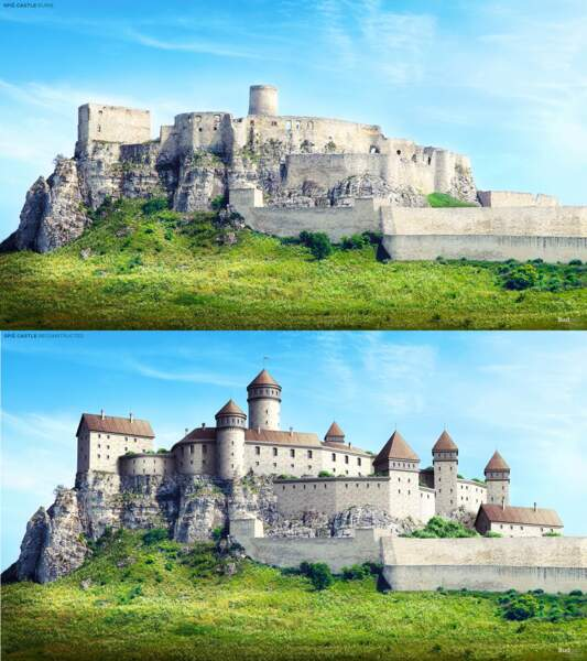 Le château de Spiš, Slovaquie