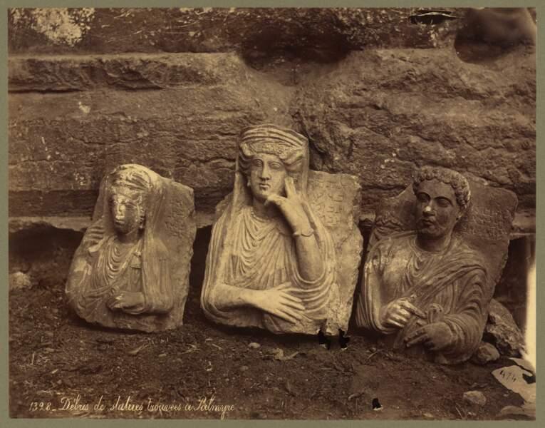 Morceaux de statues