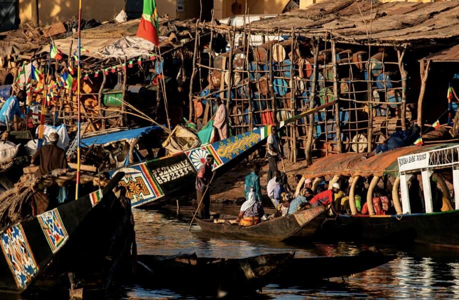 Le port de Mopti