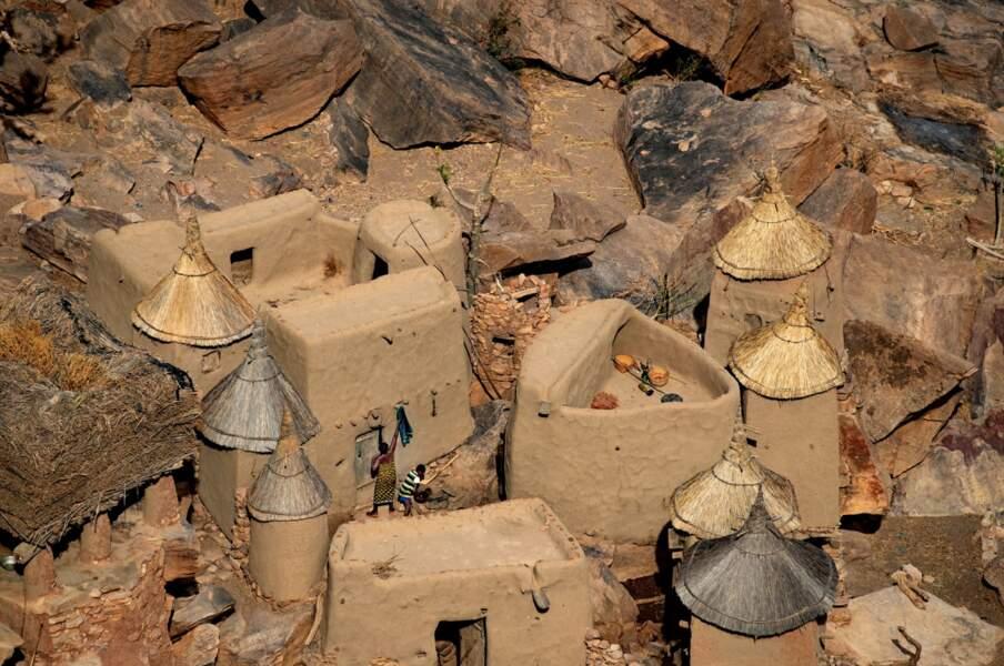 Les fameux villages Dogon