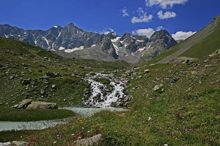 Le parc national des Ecrins