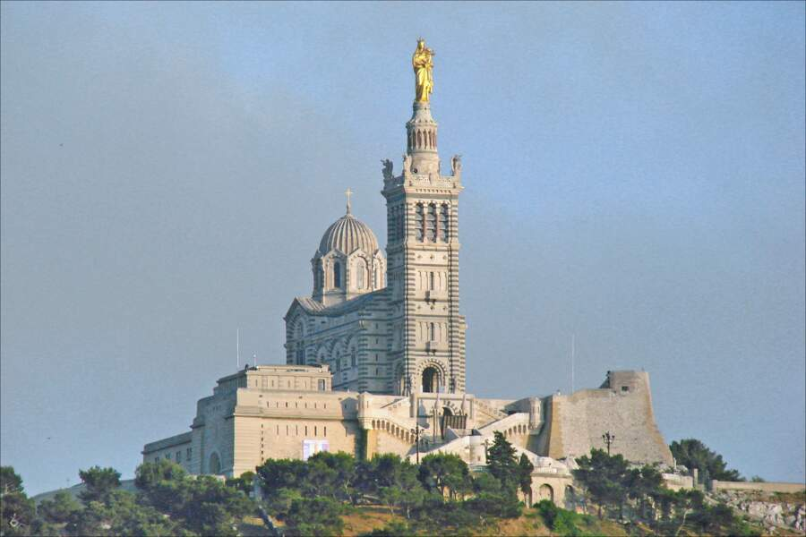La basilique Notre-Dame-de-la-Garde