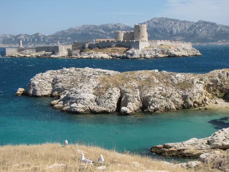 Le château d'If / les îles du Frioul
