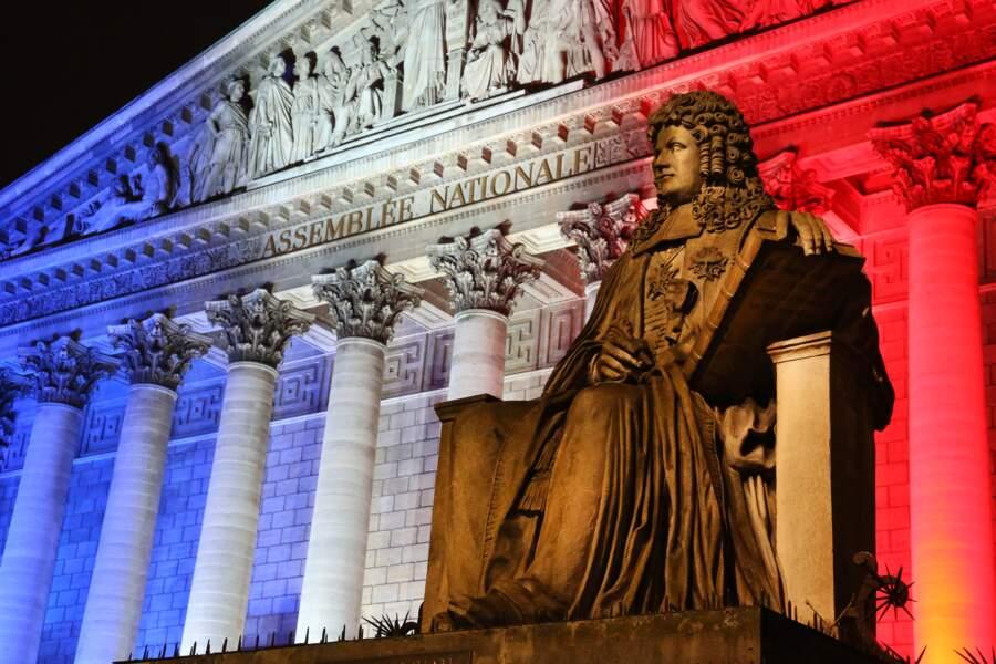 Colbert devant l'Assemblée nationale à Paris