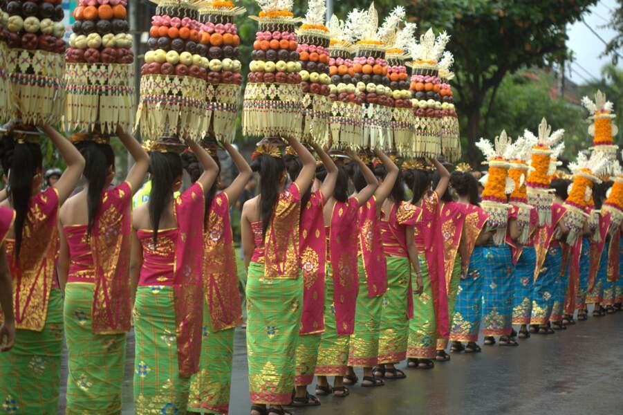 Offrandes aux divinités ancestrales