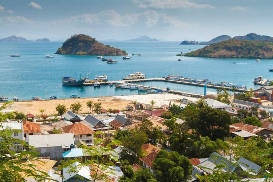 Le port de l'île de Flores