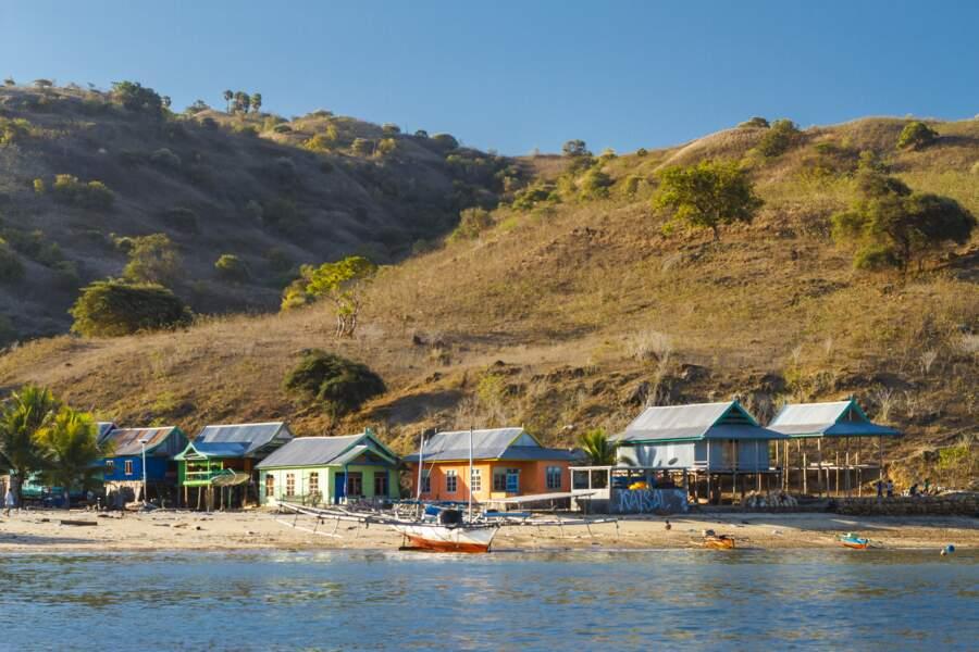 L'île de Komodo