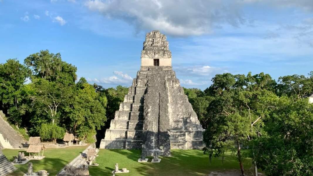 Une des ruines de Tikal