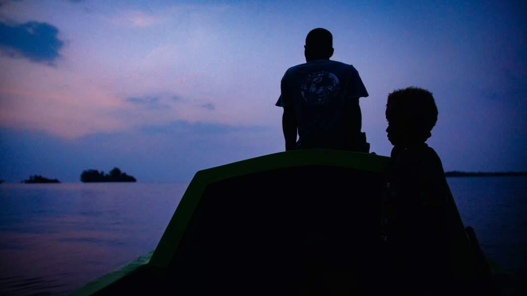 Avec les Langa Langa des îles Salomon