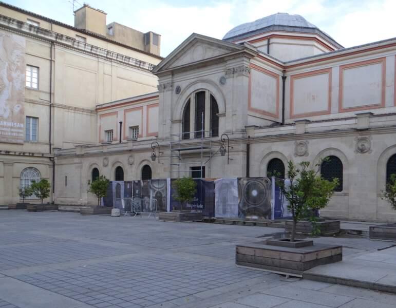 La chapelle impériale du Palais Fesch d'Ajaccio (Corse)
