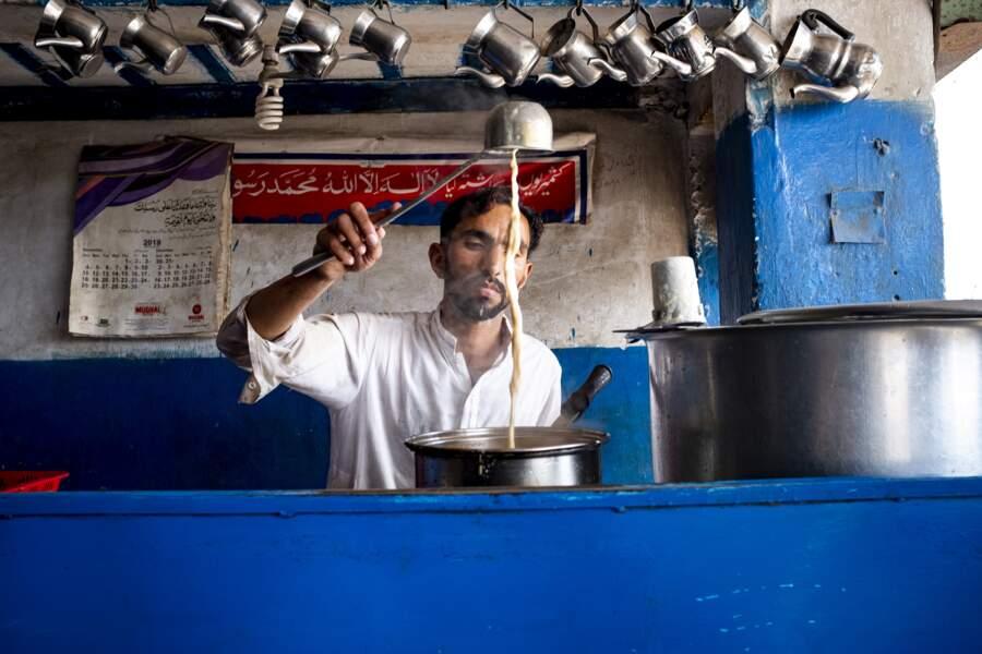 Scène de la vie ordinaire pakistanaise
