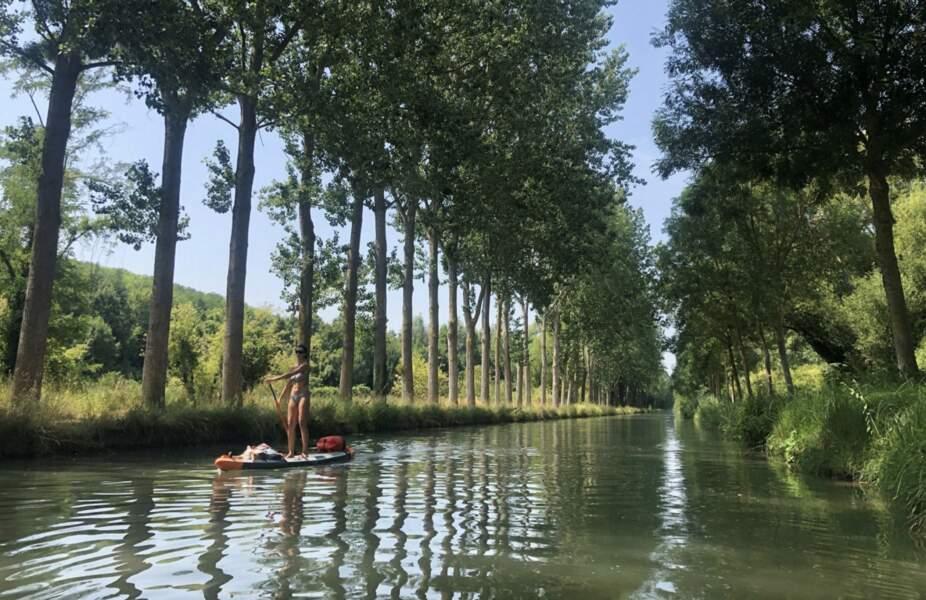 Six jours sur le Canal de l'Ourcq avec Marianne Aventurier et Alex Voyer