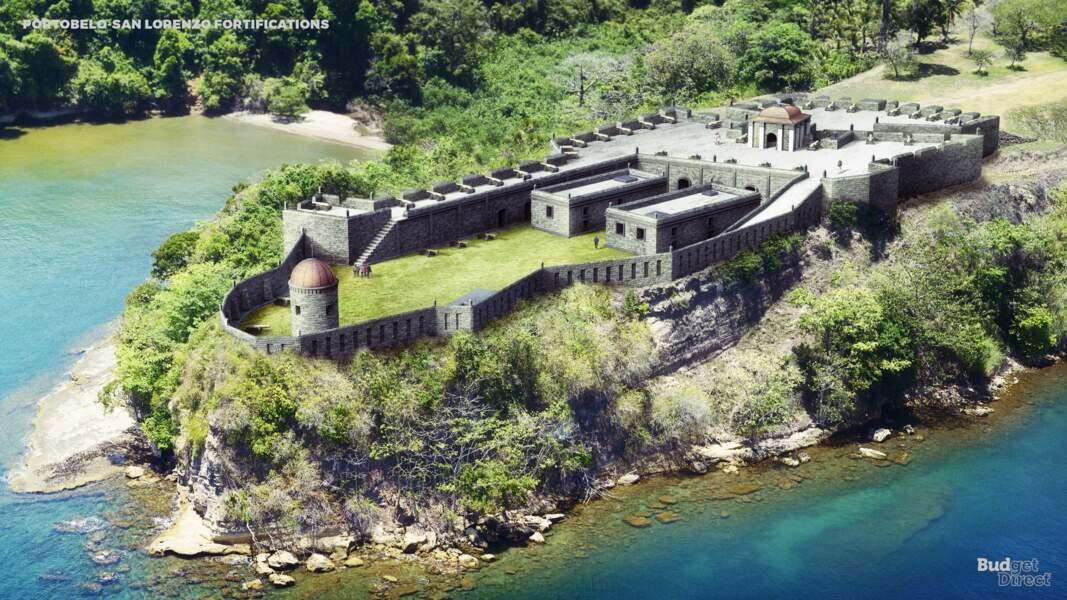 Les fortifications Portobelo-San Lorenzo, Panama : aujourd'hui