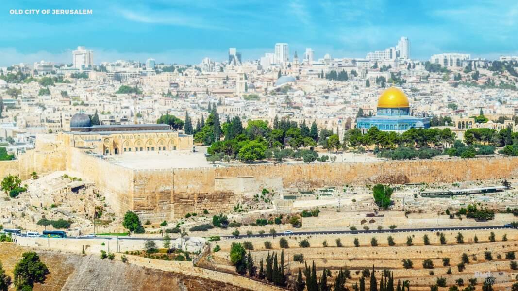 La vieille ville de Jérusalem et ses remparts : aujourd'hui
