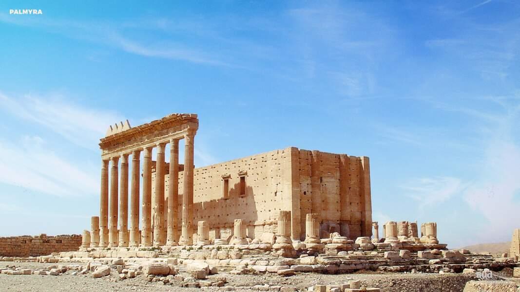 La ville antique de Palmyre, Syrie : aujourd'hui