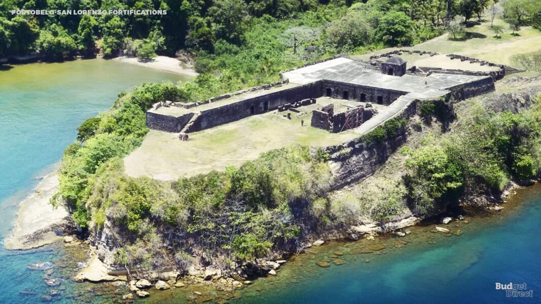Les fortifications Portobelo-San Lorenzo, Panama : reconstruit