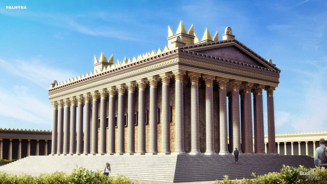 La ville antique de Palmyre, Syrie : reconstruit