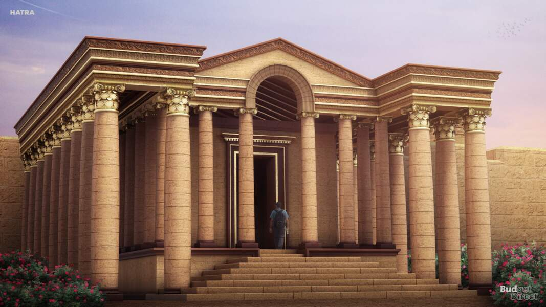 La cité d'Hatra, Irak : reconstruit