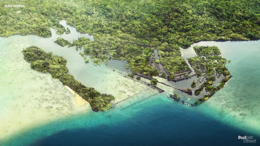 Le site de Nan Madol, Micronésie : aujourd'hui