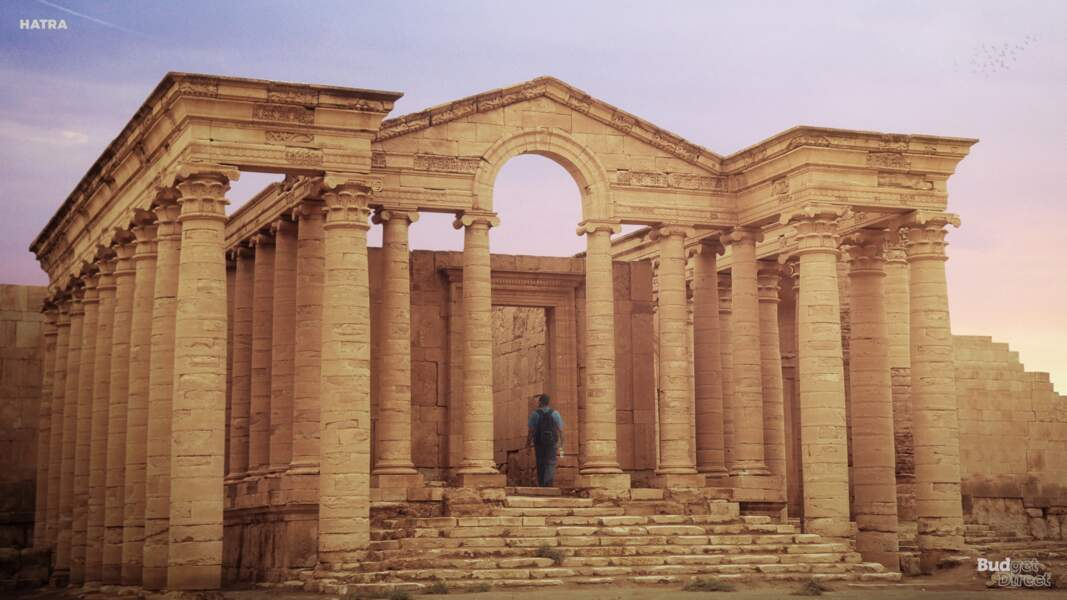 La cité d'Hatra, Irak : aujourd'hui